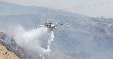 Chinese Peak Fire Water Drop- Pocatello