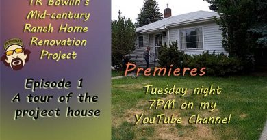 Don't miss the Premiere of my new YouTube home renovation series!